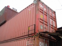 Sea container 40th foot. height 2,90