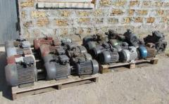 Electric motors from storage