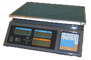 Scales for retail trade automatic, Model of trade