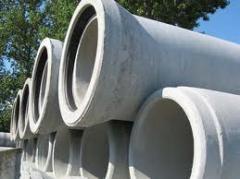 Concrete rectangular pipes