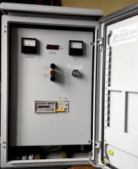 Converter electric cathodic protection