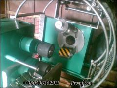 Automatic machine for packing of sausage processed