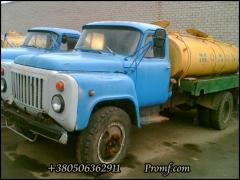 GAZ-53 milk tanker