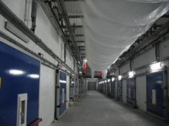 Хранилище яблок 2400 тонн с РГС