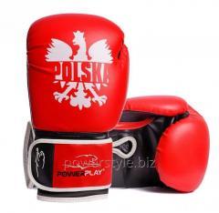 Боксерские перчатки PowerPlay 3021-1 Poland
