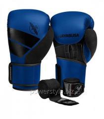 Боксерские перчатки Hayabusa S4 - синие 12oz (Original)