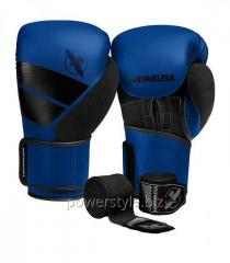 Боксерские перчатки Hayabusa S4 - синие 16oz