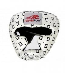 Боксерский шлем тренировочный PowerPlay 3044 белый S