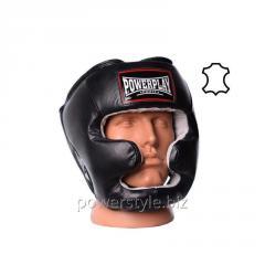 Боксерский шлем тренировочный PowerPlay 3065 чорний S/M