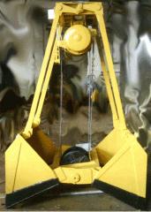 Грейфер мротный 0,8...1,6 м.куб