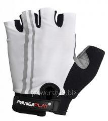 Велоперчатки PowerPlay 5031 C белое M