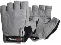 Велоперчатки PowerPlay 5295 серый XS