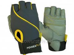 Перчатки для фитнеса PowerPlay 1725 B женские
