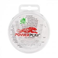Капа боксерськая PowerPlay 3306 JR Прозора /MINT