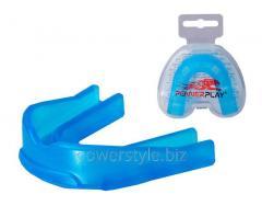 Капа боксерськая PowerPlay 3307 SR синяя