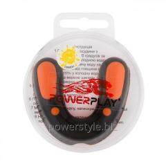 Капа боксерськая PowerPlay 3315 SR Оранжево-черная LEMON