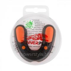 Капа боксерськая PowerPlay 3315 SR Оранжево-черная MINT