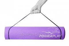 Коврик для фитнеса и йоги PowerPlay 4010 (173*61*0.6) Фіолетовий