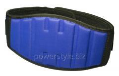 Пояс для тяжелой атлетики PowerPlay 5425 синией (Неопрен) S