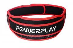 Пояс для тяжелой атлетики PowerPlay 5545 черно-красный (Неопрен) XS