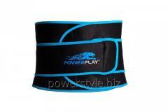Пояс для похудения PowerPlay 4303 черно-синией