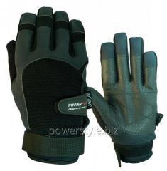 Перчатки для кроссфита PowerPlay 2076 черные XL