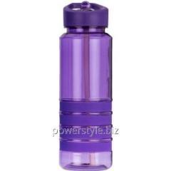 Бутылка для воды з трубочкою Smile SBP-1 750 мл. фиолетовая