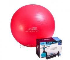 Мяч для фитнеса PowerPlay 4001 55см Розовий +