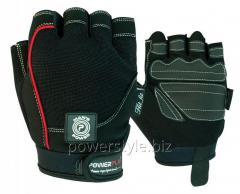 Перчатки для фитнеса PowerPlay 1566 черные M