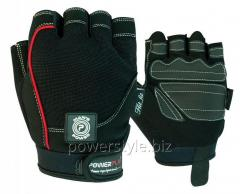 Перчатки для фитнеса PowerPlay 1566 черные S
