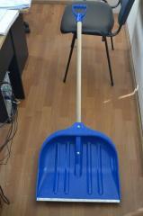 Shovel for snow 31х43 z the handle