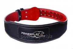 Пояс для тяжелой атлетики PowerPlay 5085 черно-красный XS