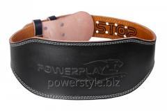 Пояс для тяжелой атлетики PowerPlay 5086 черно-Коричневий L