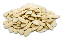 Sunflower seed pumpkin grade the Ukrainian polycarpous