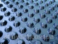 Шиповидная дренажная мембрана Изолит 0.5 (HDPE)