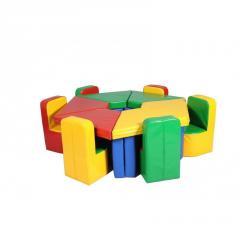 Комплект ігрових меблів Квіточка