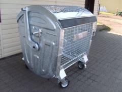 Container galvanized EN 840-3 PET