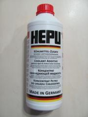 Антифриз концентрат HEPU 1.5L красный G12