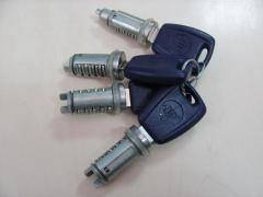 Личинка замка двери Fiat Doblo 00-09 комплект