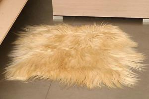 Carpets from fur from the producer