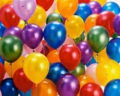 """Воздушные шары 5"""" (12,5 см) с печатью."""