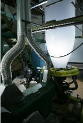 Film polyethylene for greenhouses, hotbeds,