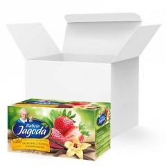 Чай в пакетиках Grandma's Tea, клубника и ваниль