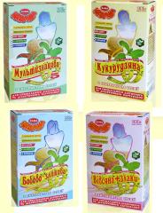 Food for athletes, porridges dietary from TM