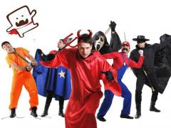 Carnival costumes of Halloween