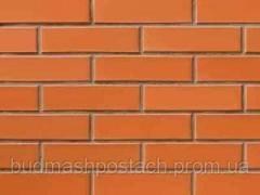 Фасонный кирпич СБК ВФ-3 морковный