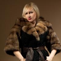 Vests from fur of a broadtail Kiev, Kharkiv,