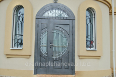 Armored entrance doors