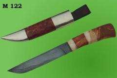 Ножи авторские.   Модель 122. Нож булатный