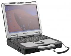 The protected laptop for diagnostics of Panasonic